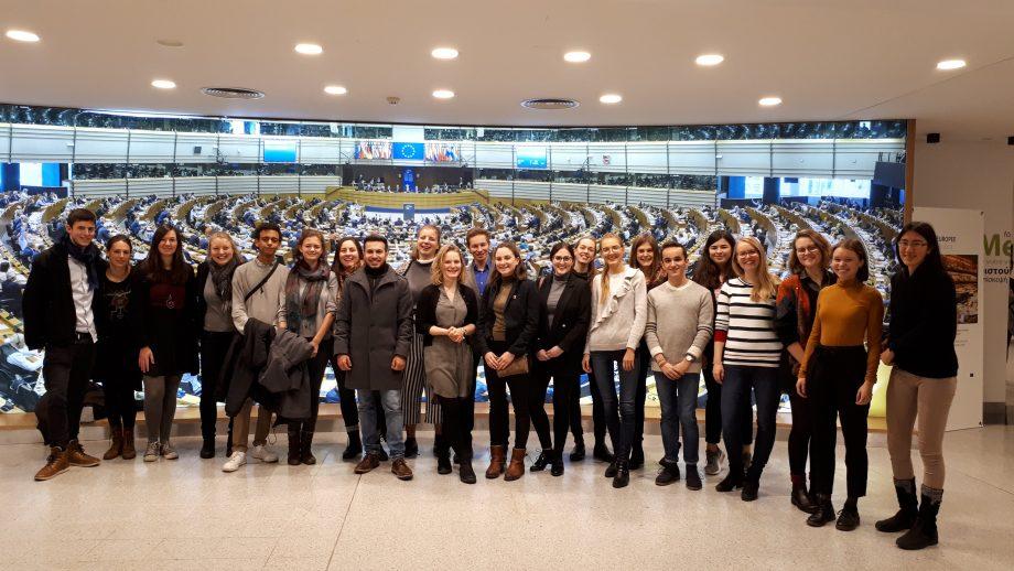 Studienfahrt nach Brüssel 2018