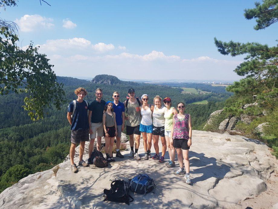 Wanderung des IB-Vereins in der Sächsischen Schweiz