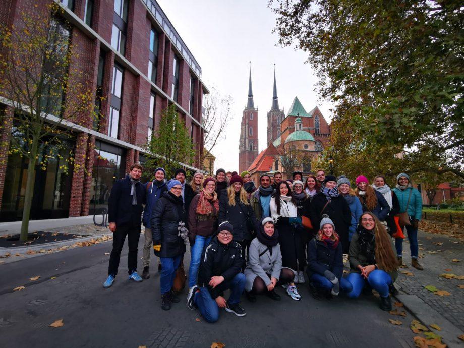Teambuilding Deluxe in Breslau – Der Master IB Jahrgang 19/21 lernt sich kennen